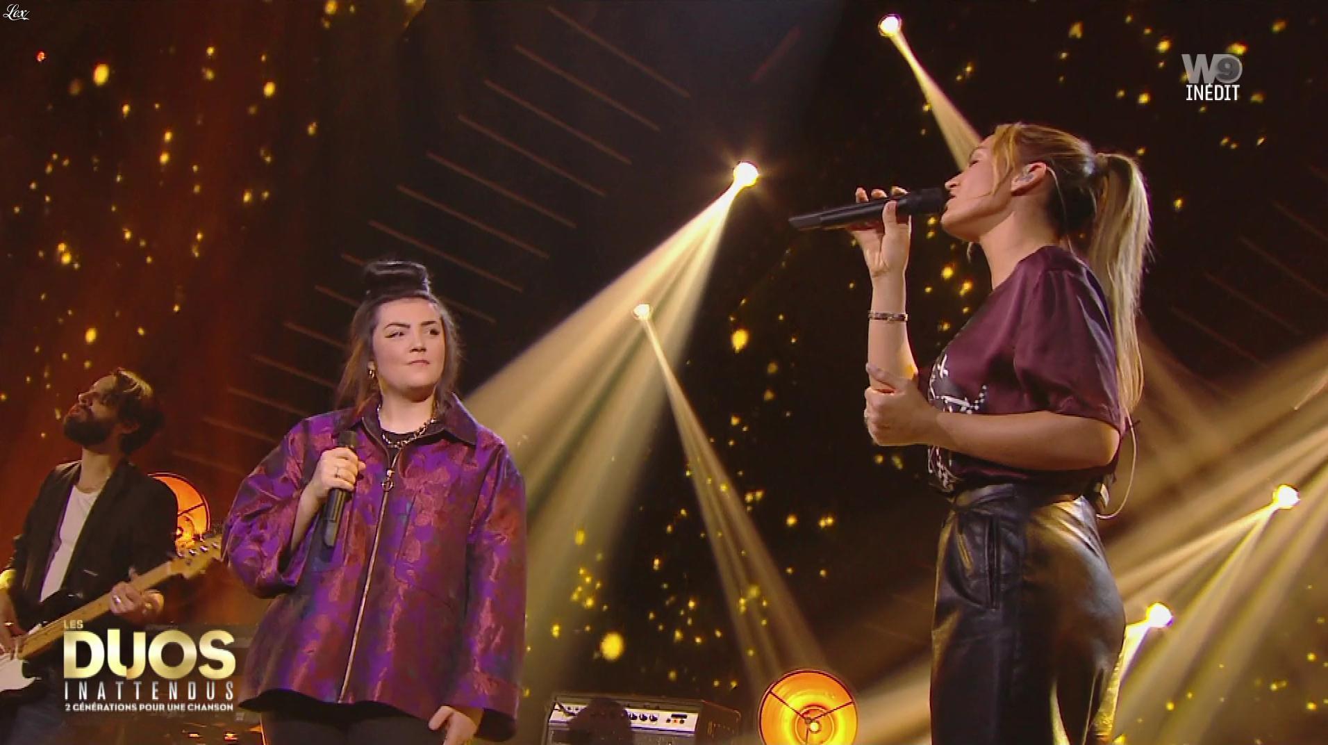 Vitaa dans les Duos Inattendus. Diffusé à la télévision le 22/12/18.