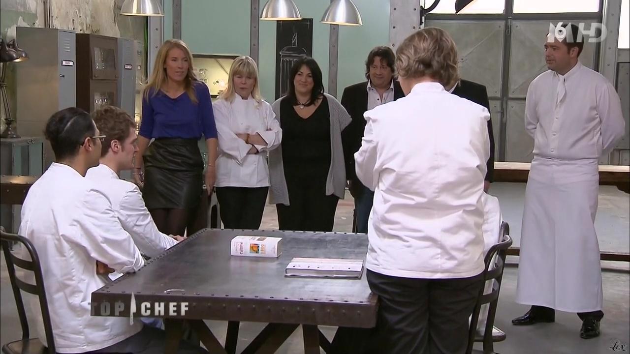 Agathe Lecaron dans Top Chef. Diffusé à la télévision le 20/02/11.