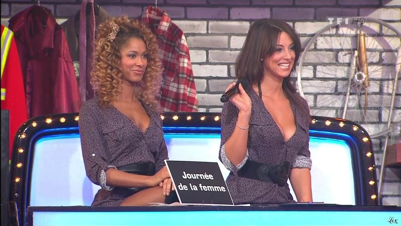 Les Gafettes, Doris Rouesne et Fanny Veyrac dans le Juste Prix. Diffusé à la télévision le 09/03/11.