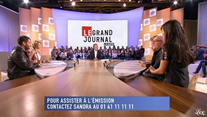 Mélanie Doutey dans le Grand Journal De Canal Plus. Diffusé à la télévision le 07/01/10.