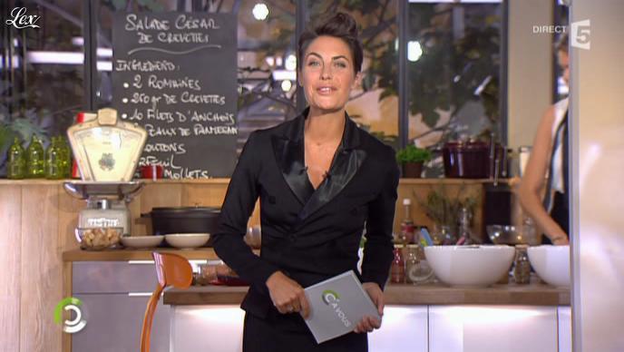 Alessandra Sublet dans C la Rentree. Diffusé à la télévision le 06/09/10.