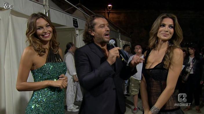 Alessia Ventura dans Sfilata d'Amore e Moda. Diffusé à la télévision le 27/06/11.