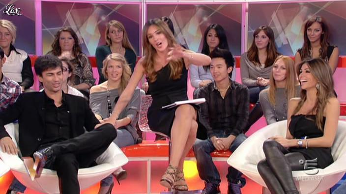 Alessia Ventura et Silvia Toffanin dans Verissimo. Diffusé à la télévision le 06/11/10.