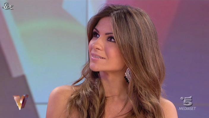 Alessia Ventura dans Verissimo. Diffusé à la télévision le 06/11/10.
