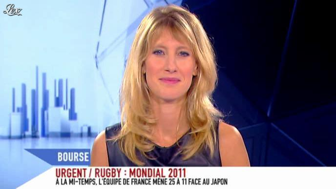 Brigitte Boucher sur i-Télé. Diffusé à la télévision le 10/09/11.