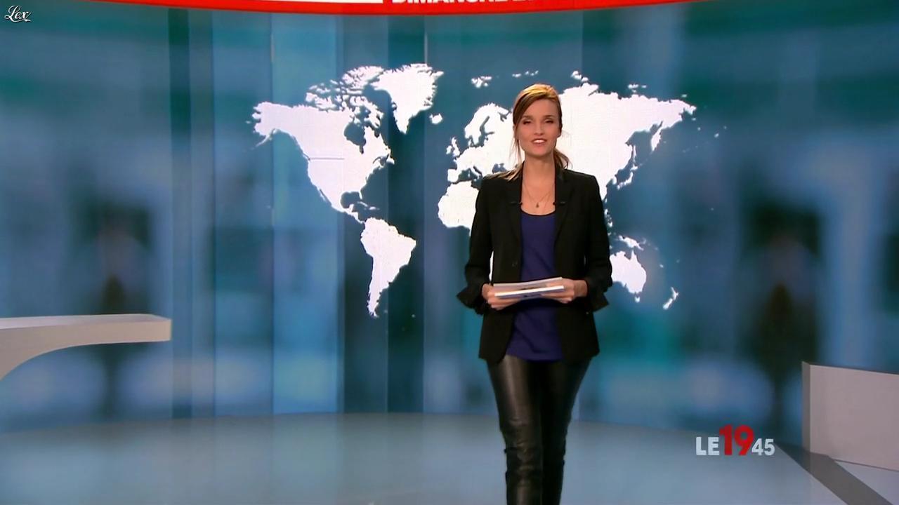 Céline Bosquet dans le 19-45. Diffusé à la télévision le 21/08/11.