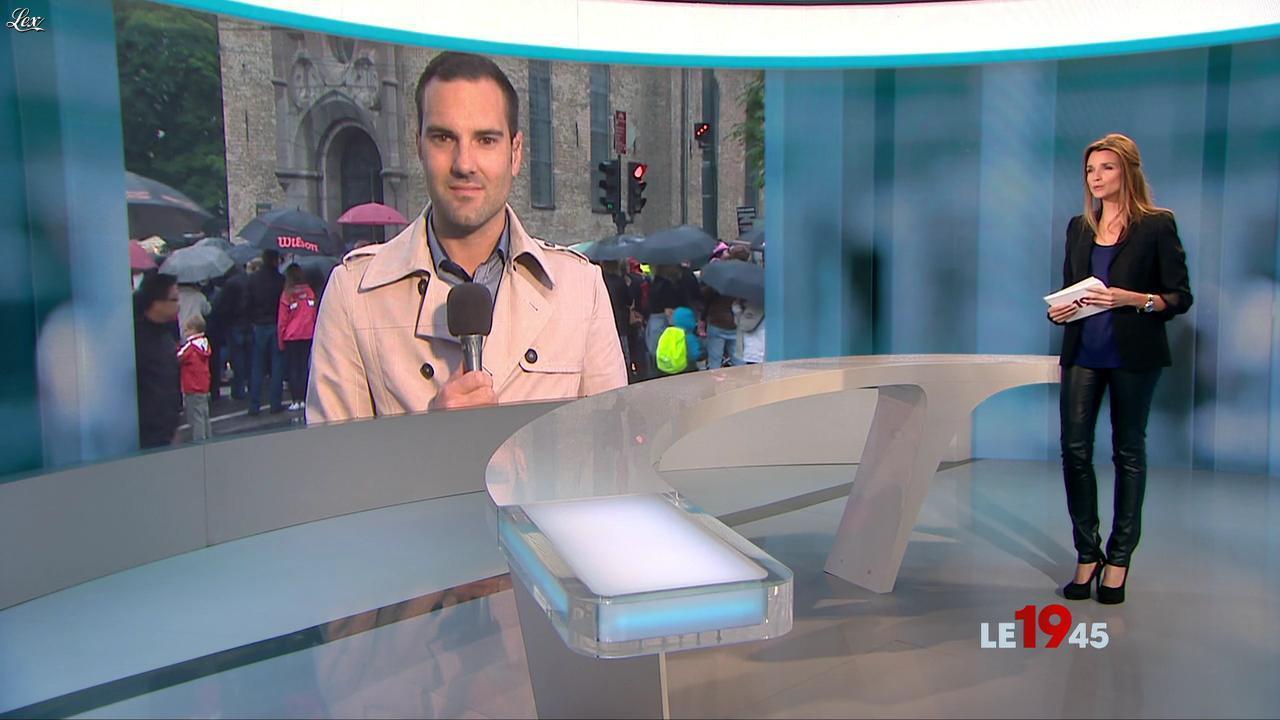 Céline Bosquet dans le 19-45. Diffusé à la télévision le 24/07/11.