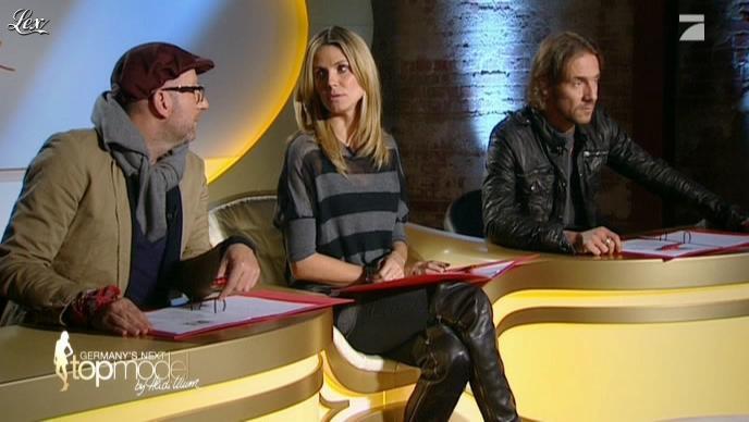 Heidi Klum dans Germany s Next Top Model. Diffusé à la télévision le 21/04/11.