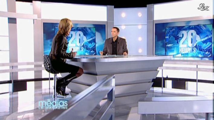 Laurence Ferrari dans Medias le Magazine. Diffusé à la télévision le 11/12/09.