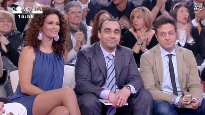 Samantha De Grenet dans DomeniÇa Cinque. Diffusé à la télévision le 06/03/11.
