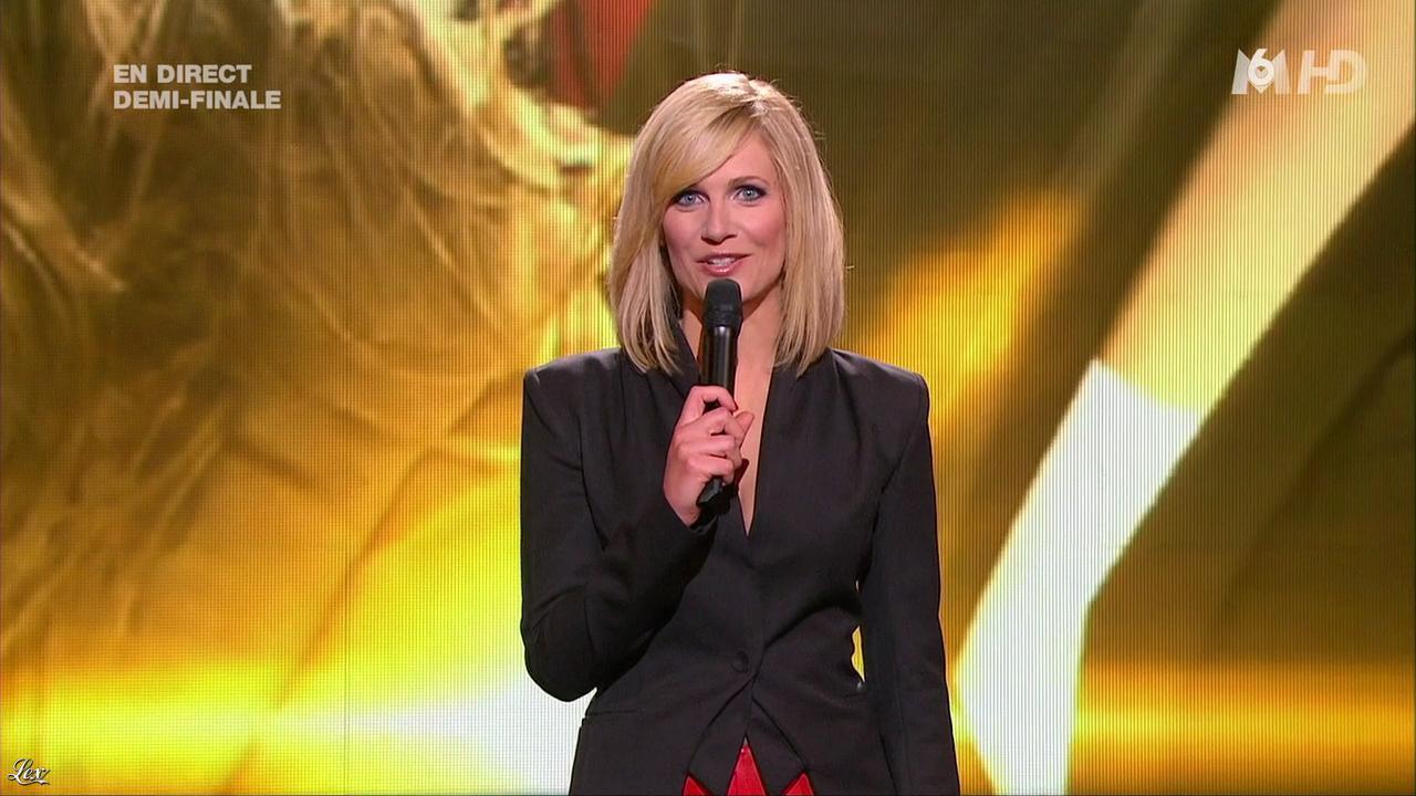 Sandrine Corman dans X Factor. Diffusé à la télévision le 21/06/11.