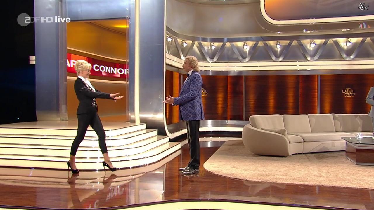 Sarah Connor dans Wetten Dass. Diffusé à la télévision le 08/10/11.