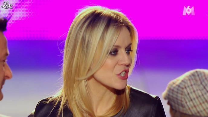 Véronic Dicaire dans X Factor. Diffusé à la télévision le 05/04/11.