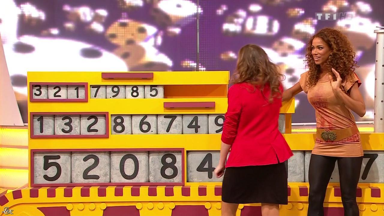Doris Rouesne dans le Juste Prix. Diffusé à la télévision le 02/01/13.