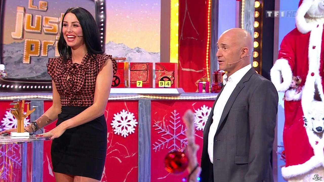 Fanny Veyrac dans le Juste Prix. Diffusé à la télévision le 02/01/13.