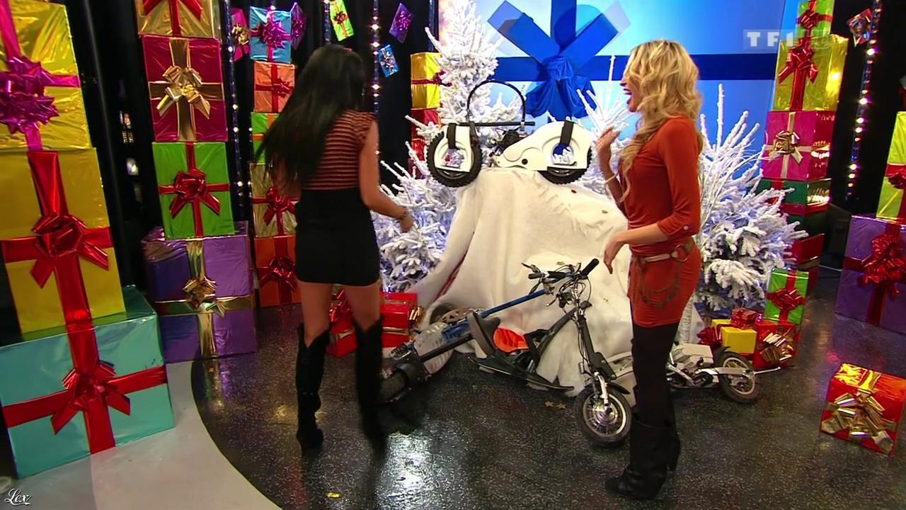 Les Gafettes, Fanny Veyrac et Nadia Aydanne dans le Juste Prix. Diffusé à la télévision le 02/01/13.