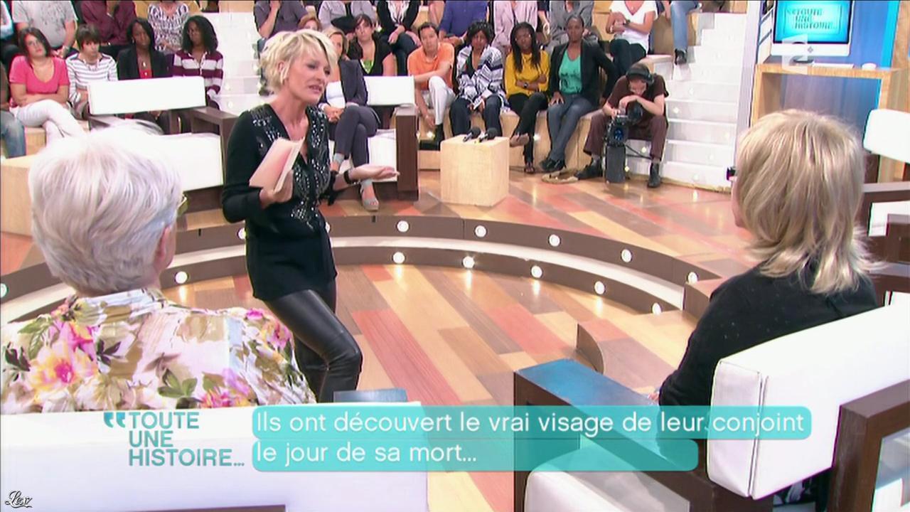 Sophie Davant dans Toute une Histoire. Diffusé à la télévision le 14/06/11.