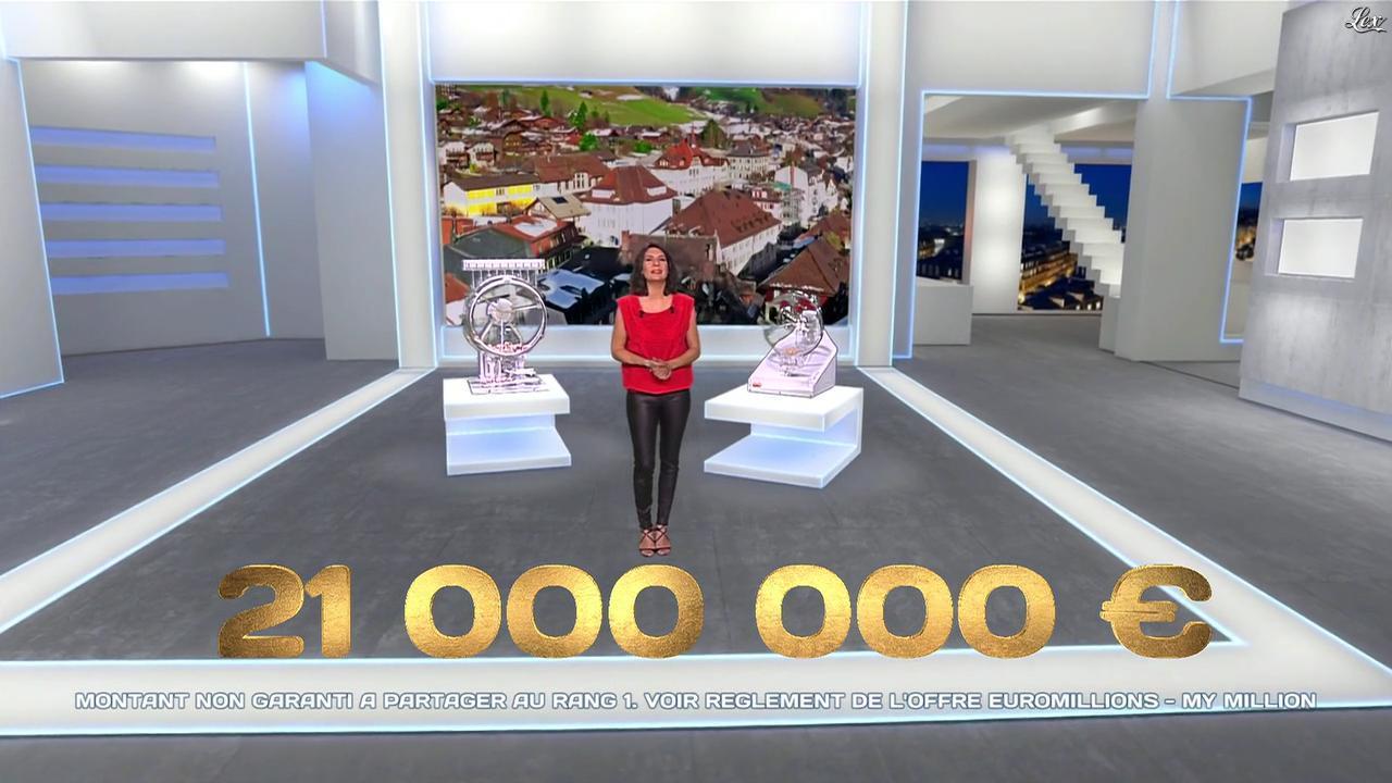 Estelle Denis dans Euro Millions. Diffusé à la télévision le 04/04/14.