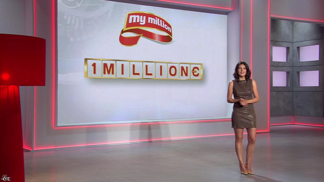 Estelle Denis dans My Million. Diffusé à la télévision le 01/04/14.