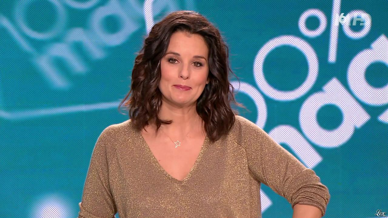 Faustine Bollaert dans 100 Mag. Diffusé à la télévision le 05/03/14.