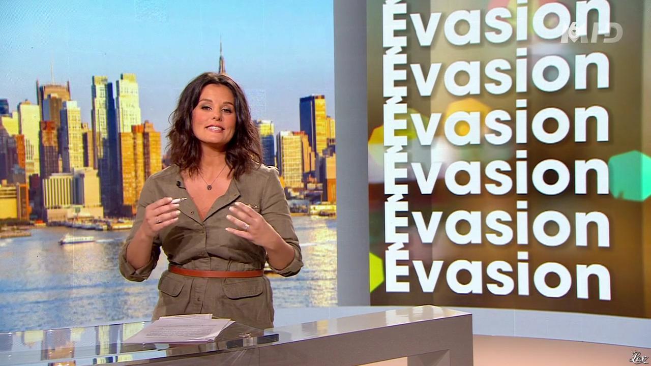 Faustine Bollaert dans 100 Mag. Diffusé à la télévision le 08/04/14.
