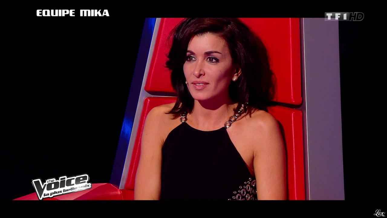 Jenifer Bartoli dans The Voice. Diffusé à la télévision le 25/01/14.