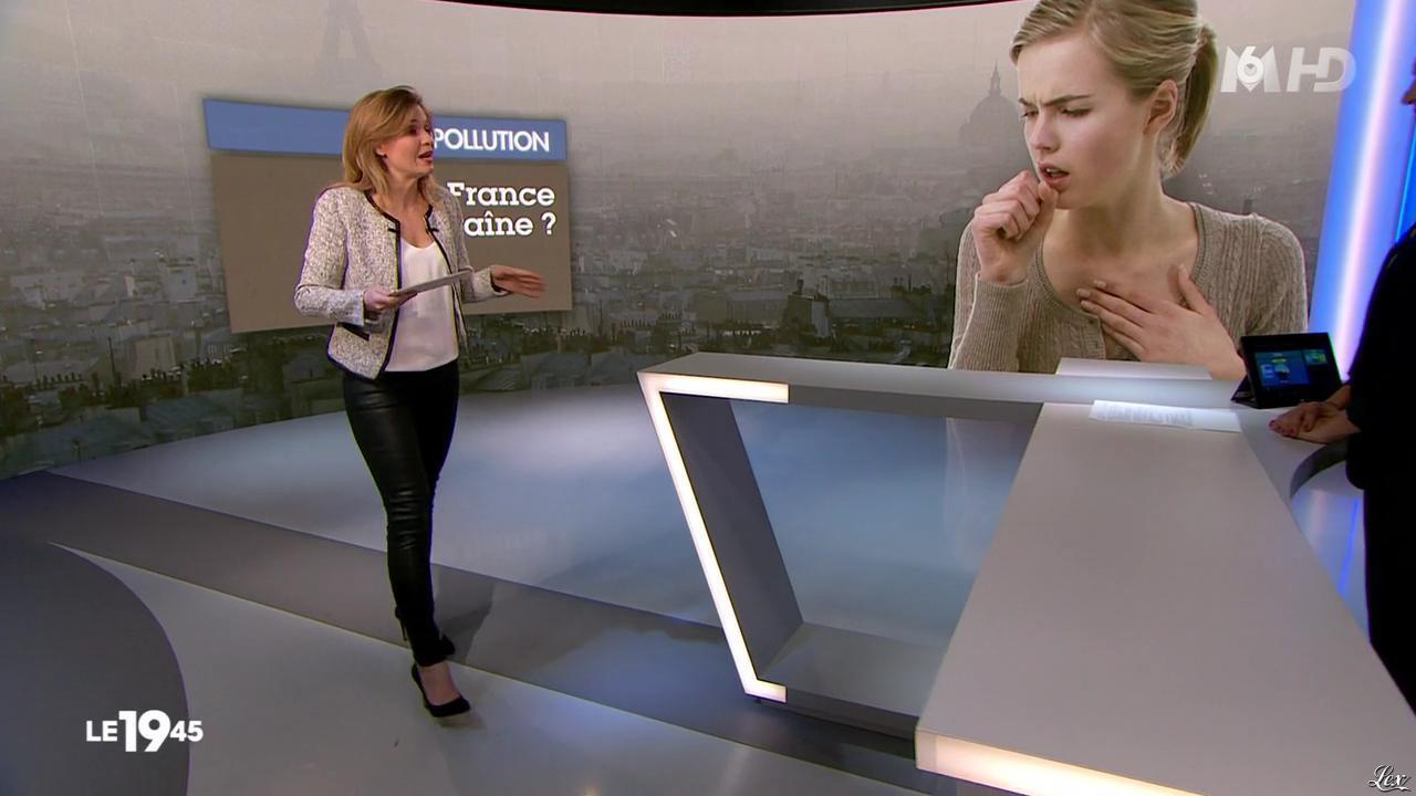 Karelle Ternier dans le 19-45. Diffusé à la télévision le 15/03/14.