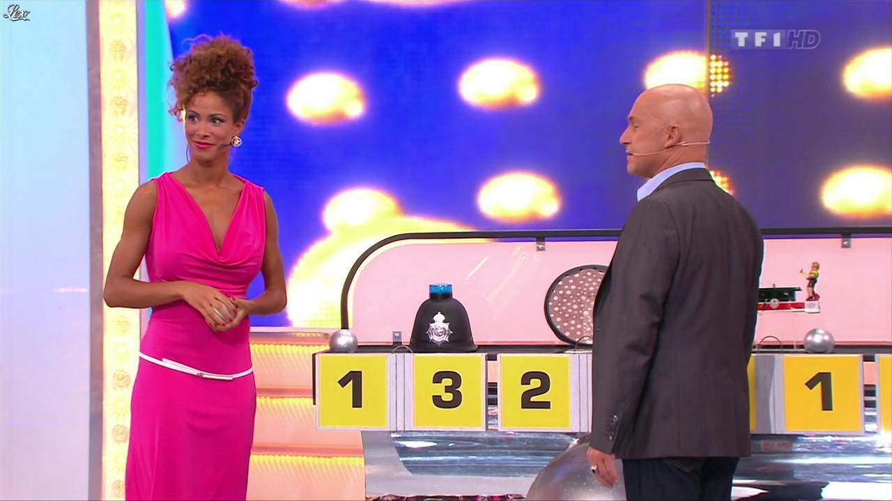 Doris Rouesne dans le Juste Prix. Diffusé à la télévision le 02/09/13.