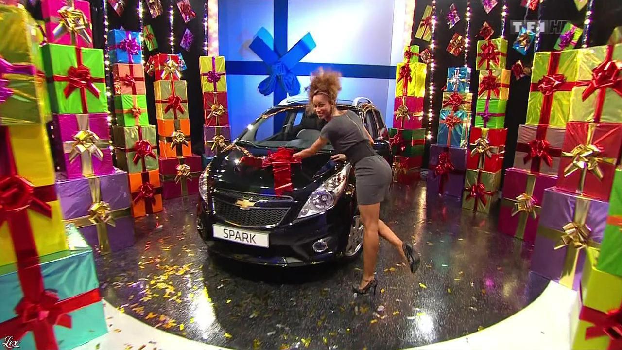 Doris Rouesne dans le Juste Prix. Diffusé à la télévision le 26/11/12.