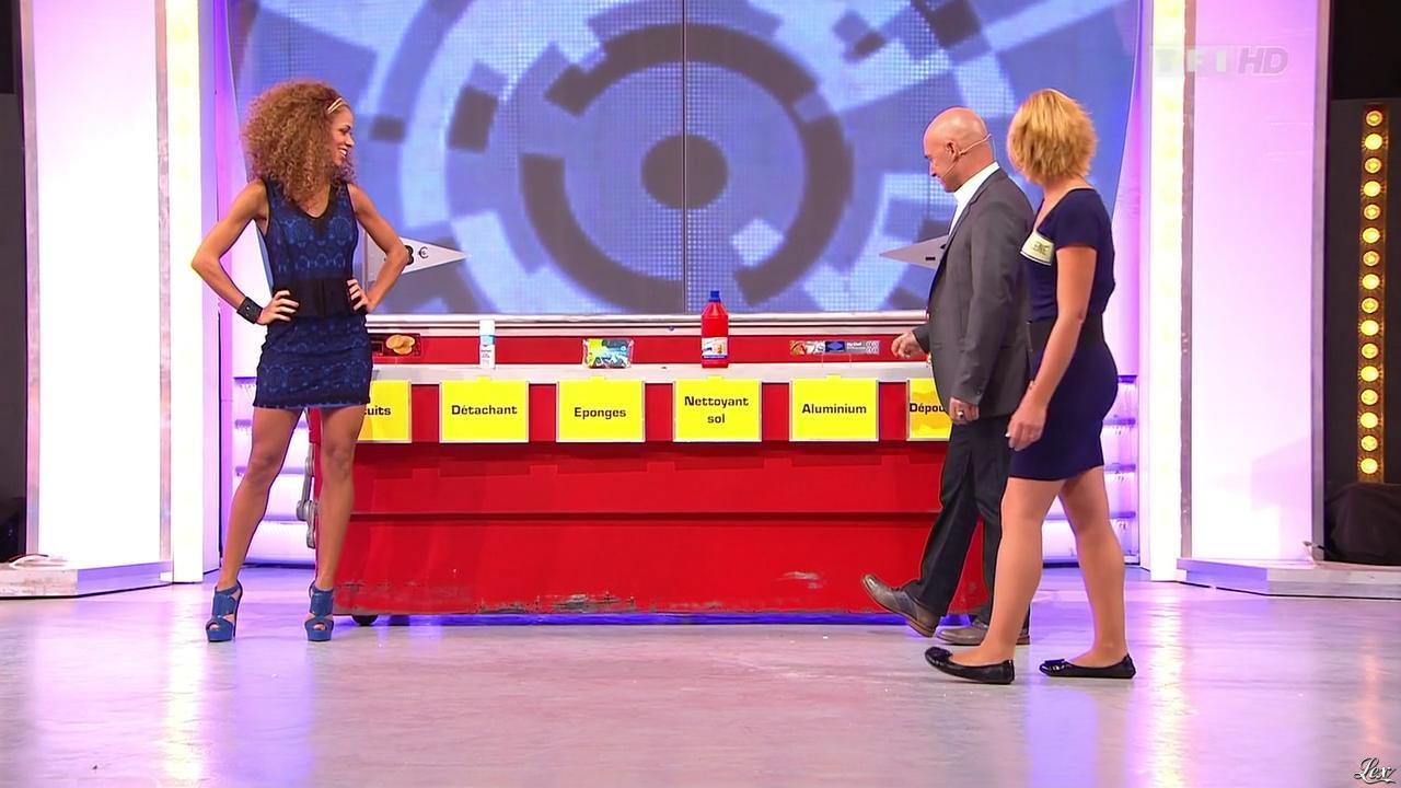 Doris Rouesne dans le Juste Prix. Diffusé à la télévision le 27/11/12.