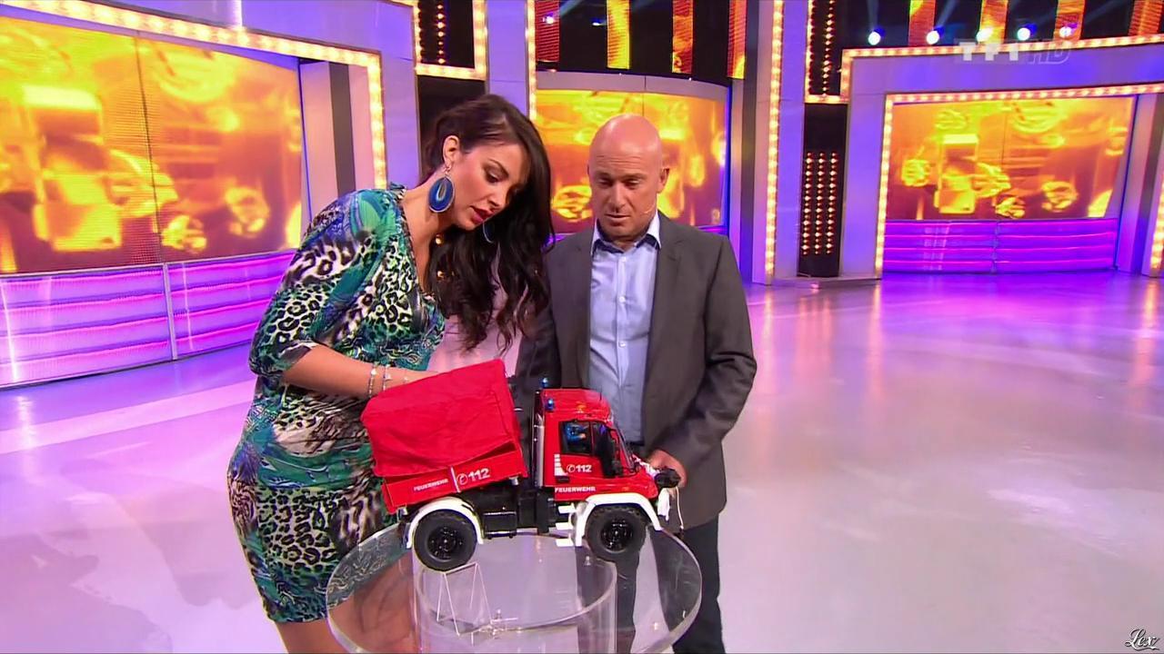 Fanny Veyrac dans le Juste Prix. Diffusé à la télévision le 02/09/13.