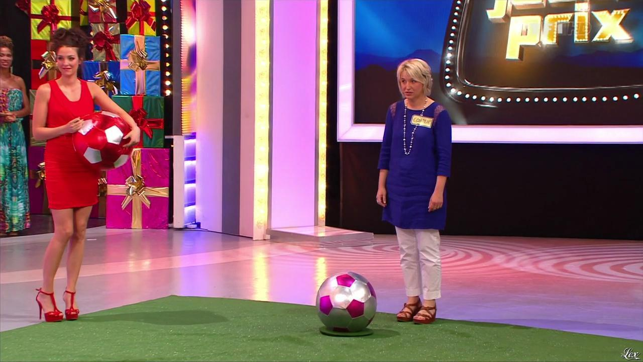 Fanny Veyrac dans le Juste Prix. Diffusé à la télévision le 04/09/13.