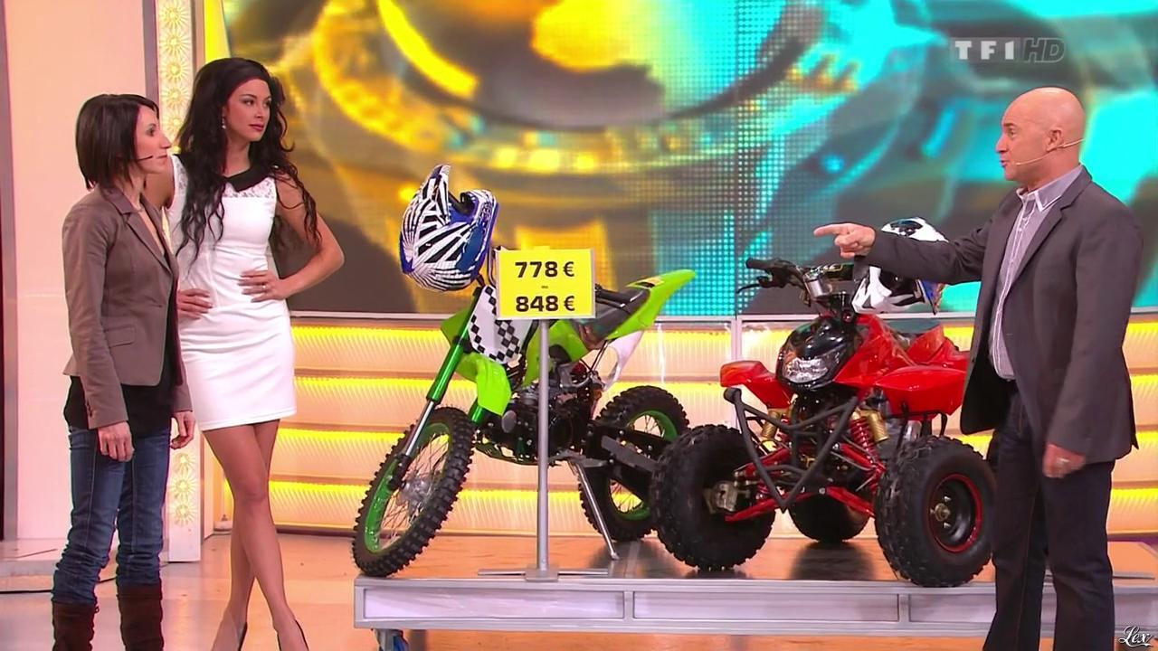 Fanny Veyrac dans le Juste Prix. Diffusé à la télévision le 19/02/13.