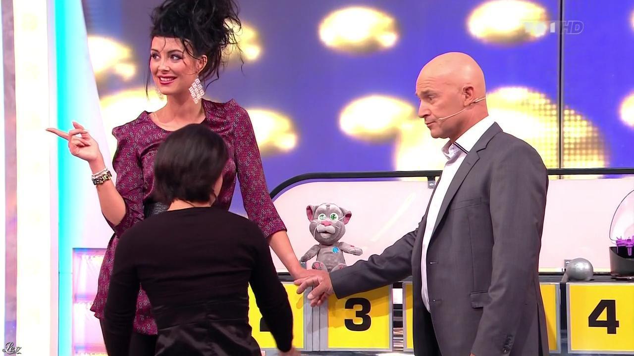 Fanny Veyrac dans le Juste Prix. Diffusé à la télévision le 26/11/12.