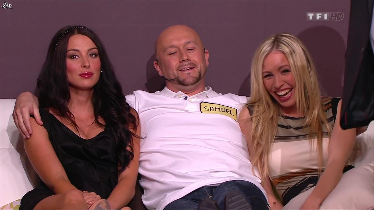 Les Gafettes, Fanny Veyrac et Nadia Aydanne dans le Juste Prix. Diffusé à la télévision le 05/09/13.