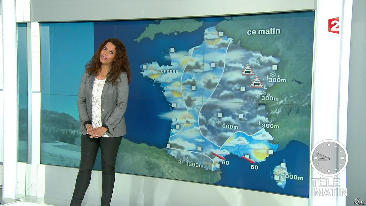 Myriam Seurat dans Télématin. Diffusé à la télévision le 15/02/13.