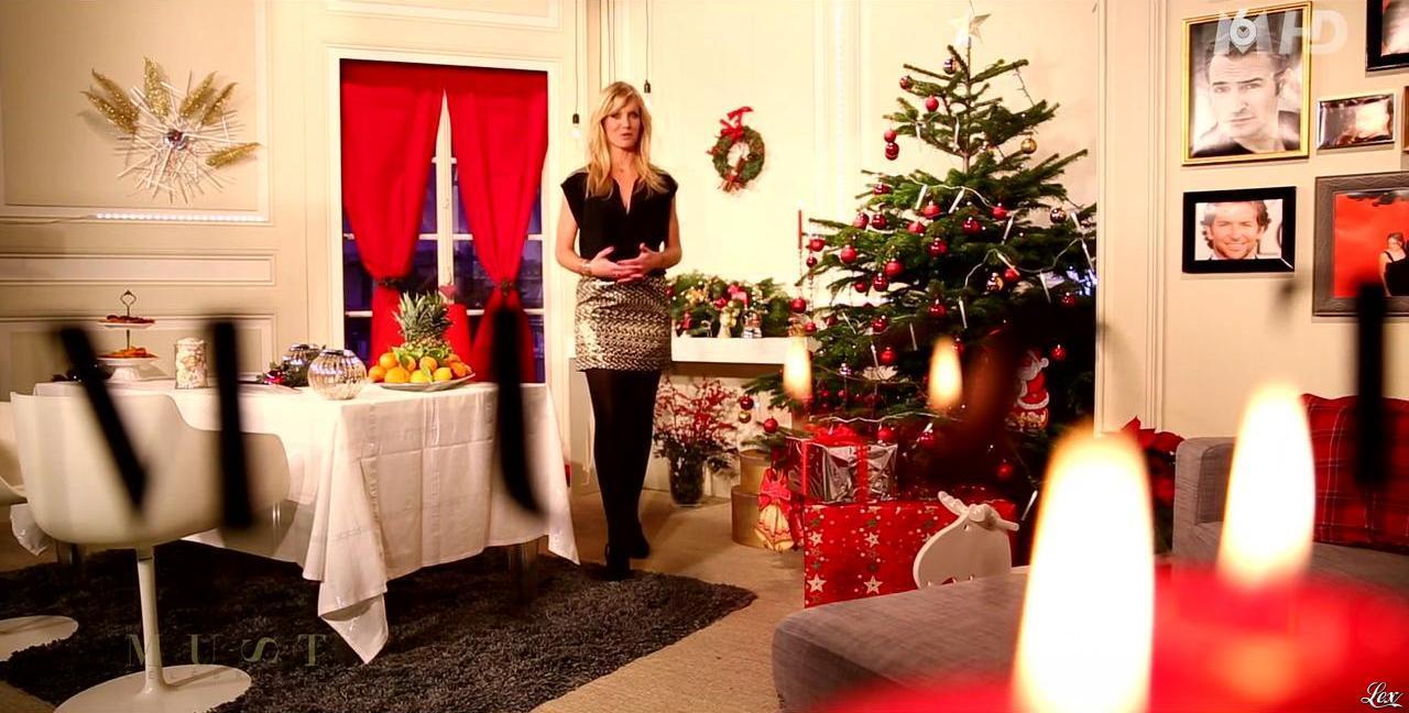 Sandrine Corman dans Must Celebrites. Diffusé à la télévision le 21/12/13.