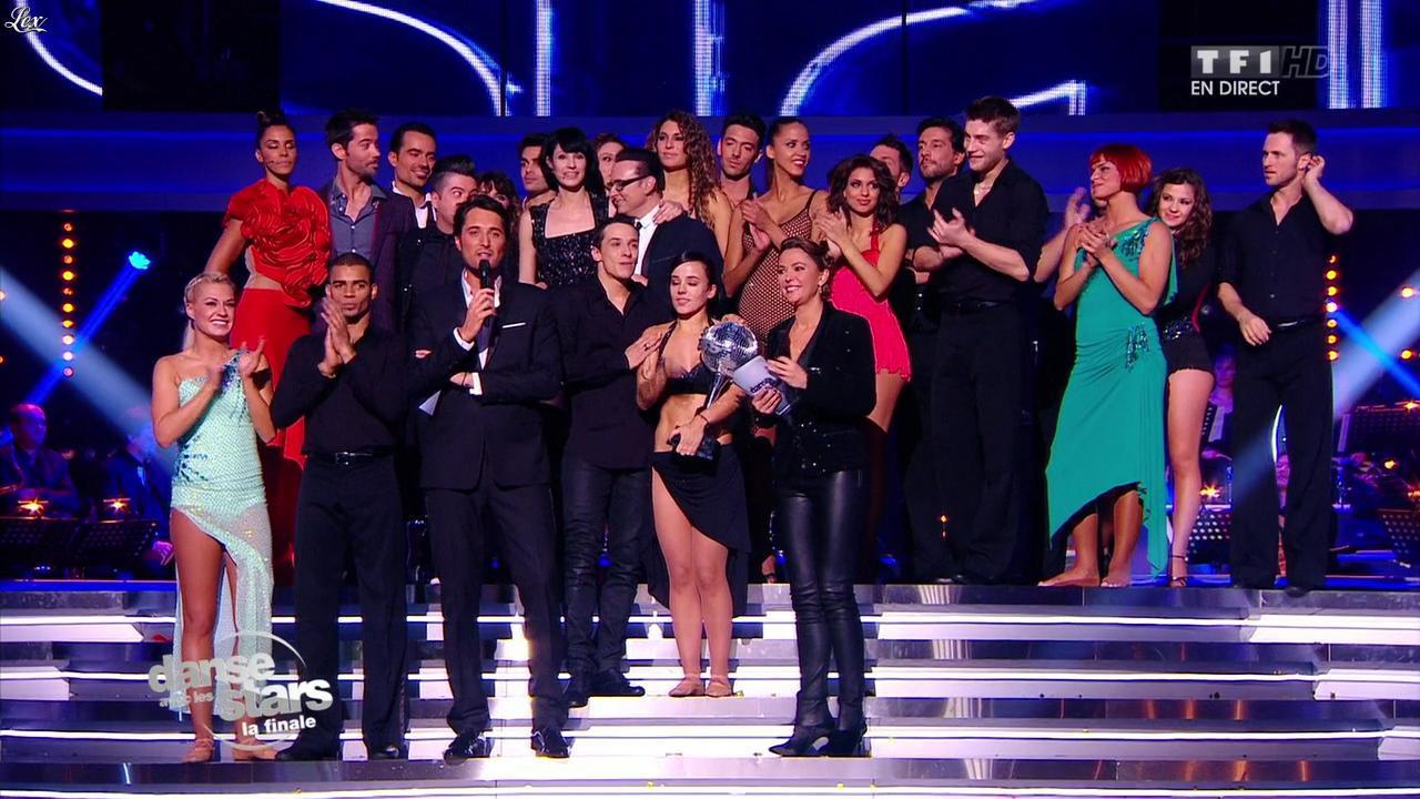 Sandrine Quétier dans Danse avec les Stars. Diffusé à la télévision le 23/11/13.