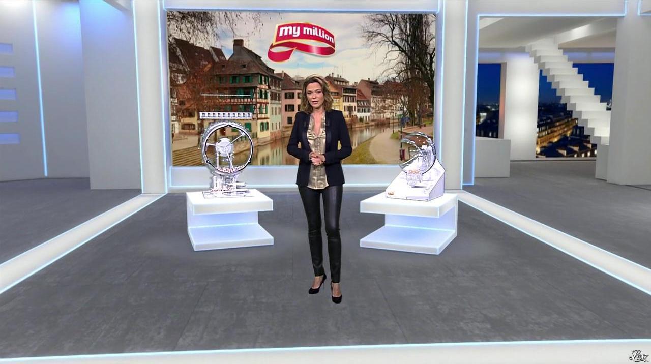 Sandrine Quétier dans Euro Millions. Diffusé à la télévision le 11/02/14.