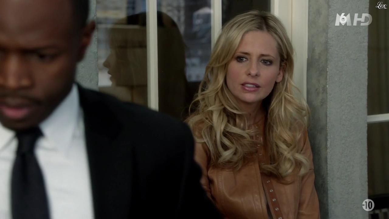 Sarah Michelle Gellar dans Ringer. Diffusé à la télévision le 10/07/13.