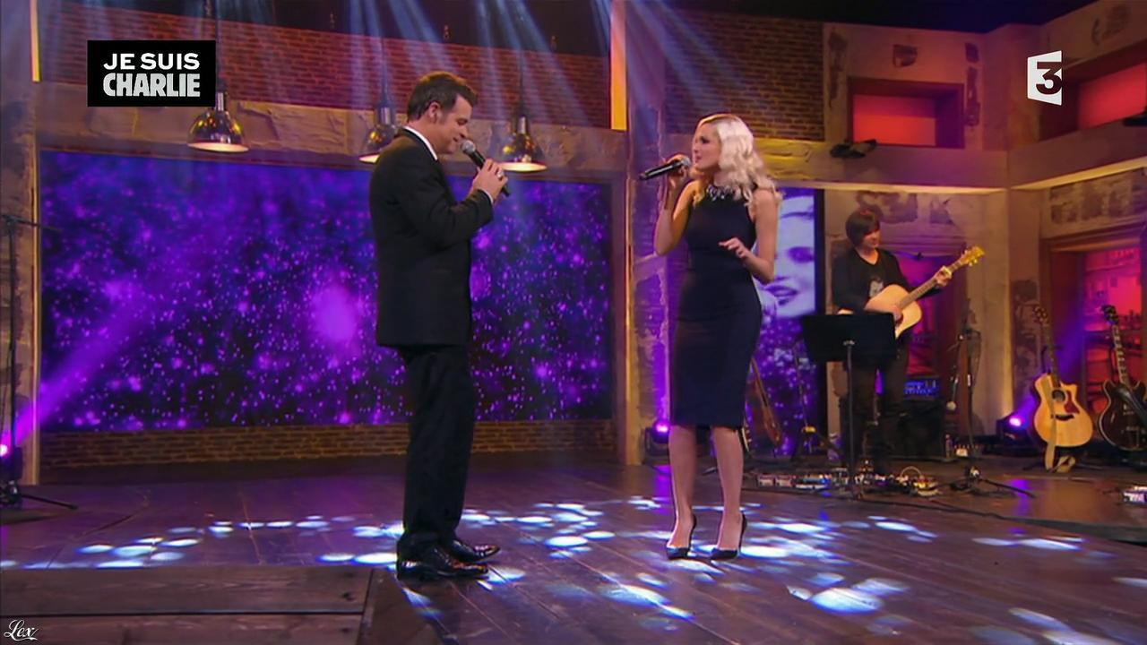 Camille Lou dans Du Cote de chez Dave. Diffusé à la télévision le 11/01/15.