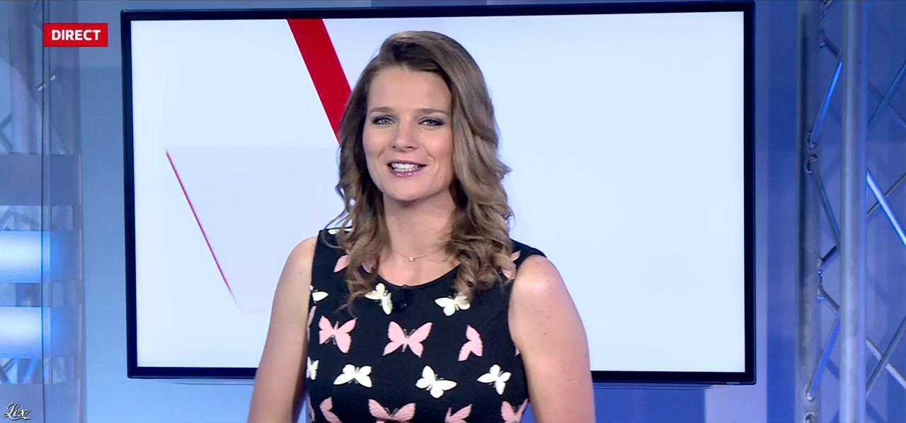 France Pierron dans Menu Sport. Diffusé à la télévision le 15/12/14.