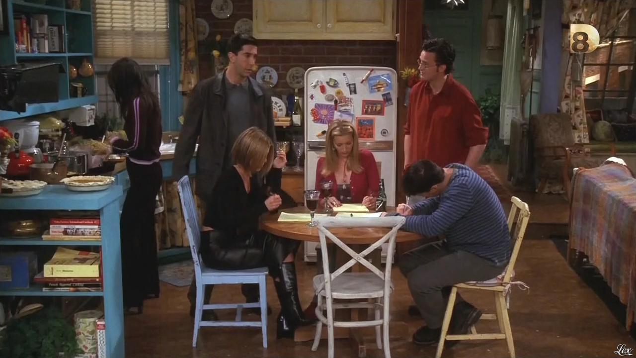 Jenifer Aniston dans Friends. Diffusé à la télévision le 17/12/14.