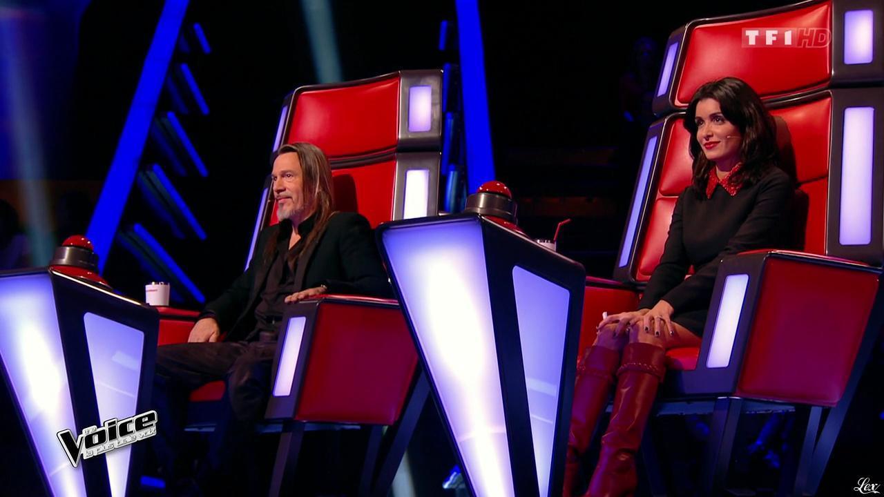 Jenifer Bartoli dans The Voice. Diffusé à la télévision le 07/02/15.