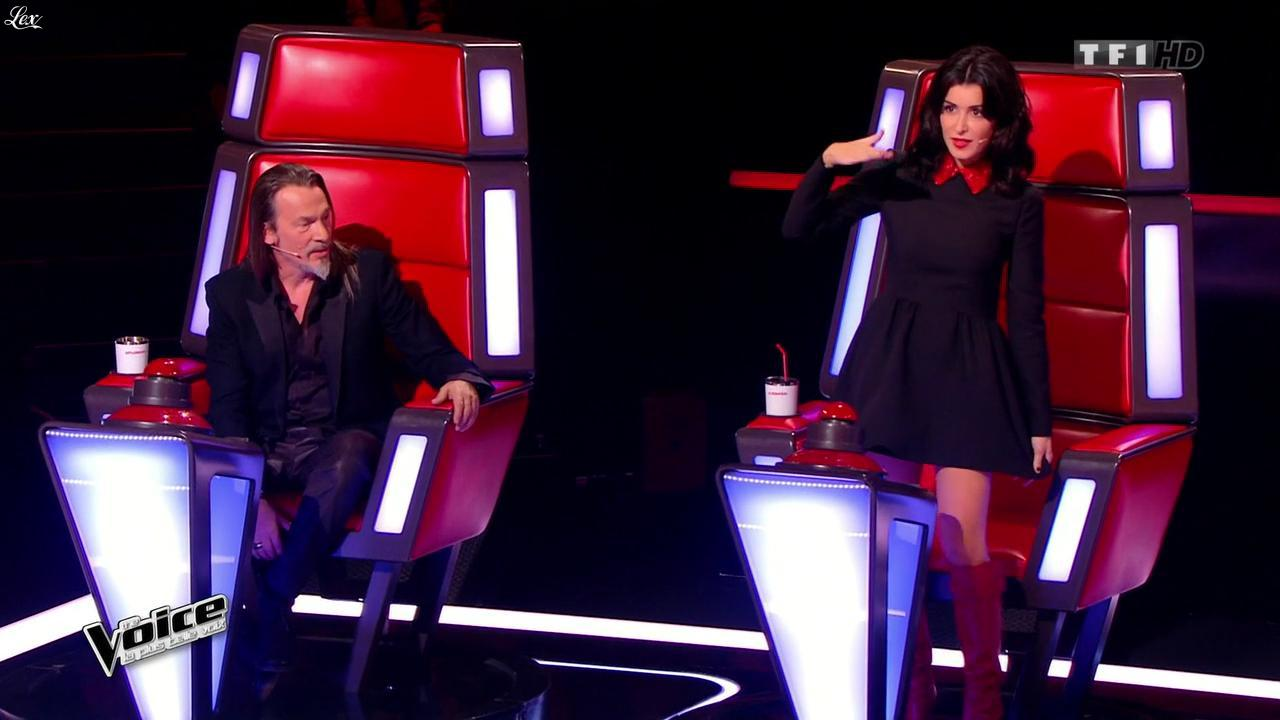Jenifer Bartoli dans The Voice. Diffusé à la télévision le 10/01/15.