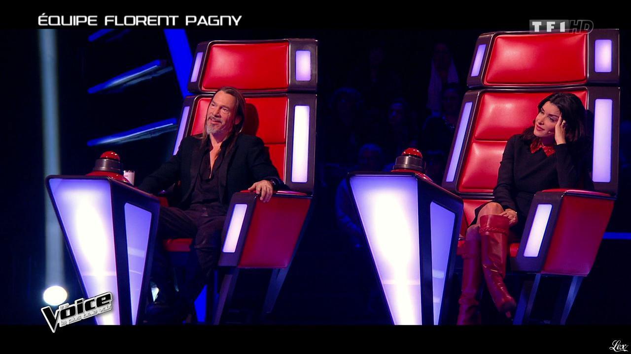 Jenifer Bartoli dans The Voice. Diffusé à la télévision le 14/02/15.