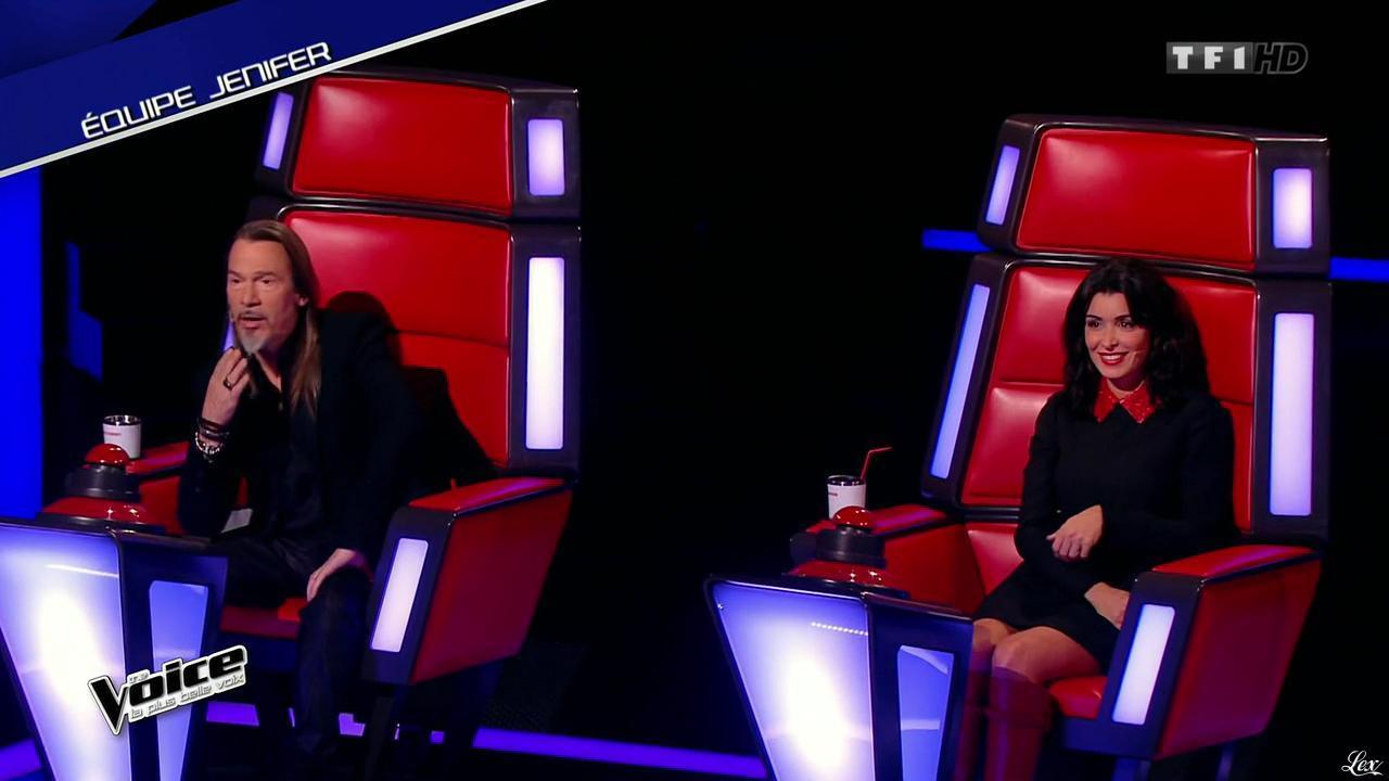 Jenifer Bartoli dans The Voice. Diffusé à la télévision le 17/01/15.