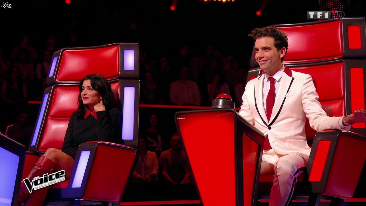 Jenifer Bartoli dans The Voice. Diffusé à la télévision le 24/01/15.