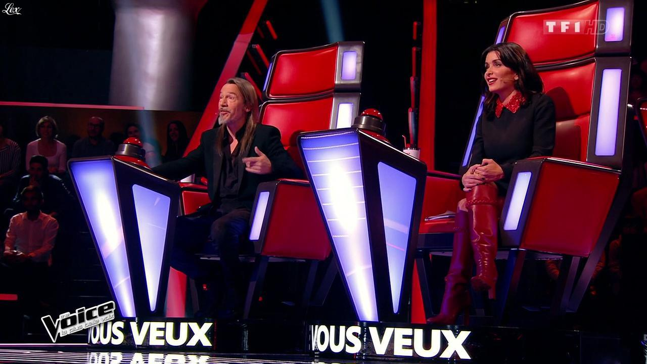 Jenifer Bartoli dans The Voice. Diffusé à la télévision le 31/01/15.