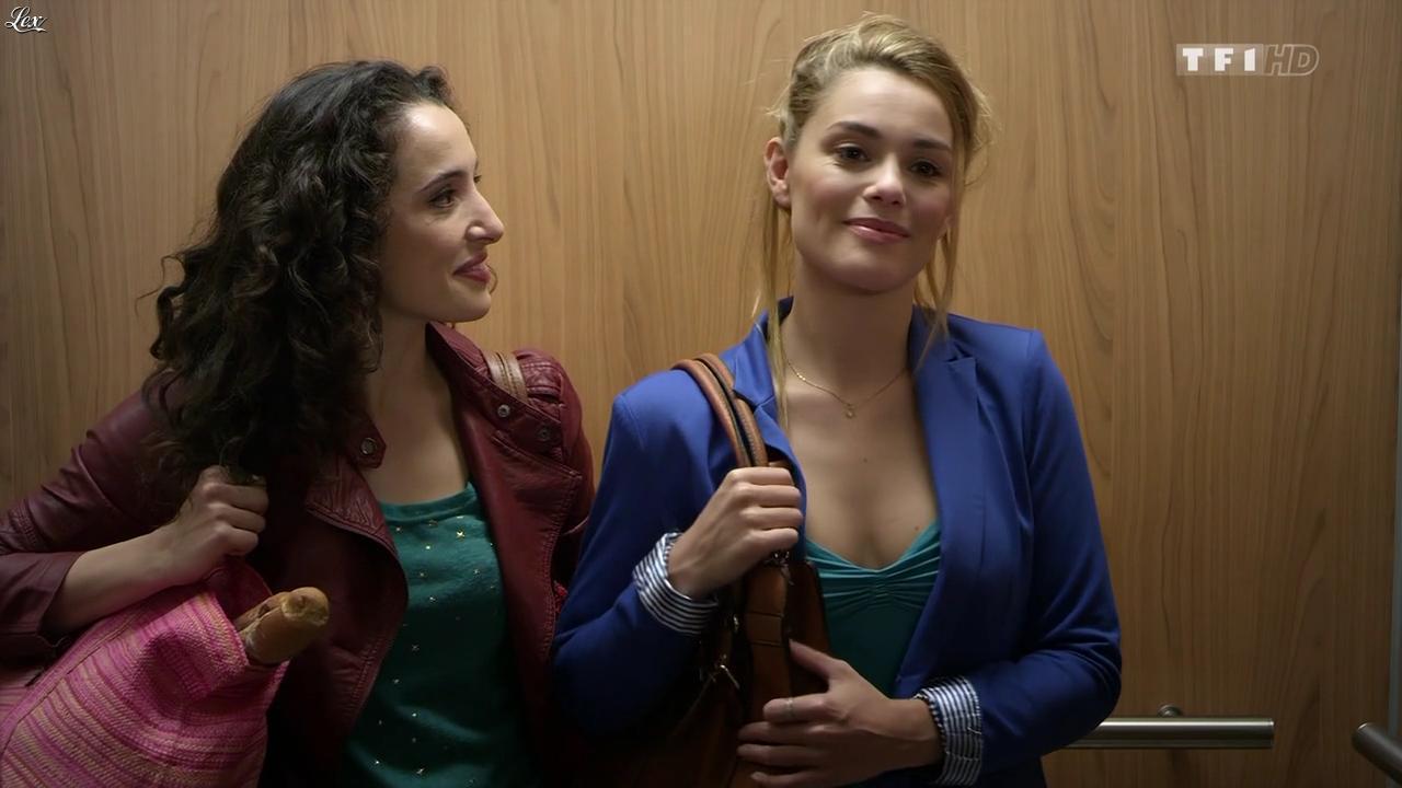 Joy Esther et Isabelle Vitari dans Nos Chers Voisins. Diffusé à la télévision le 18/03/15.